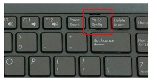 Как сделать принтскрин ноутбук